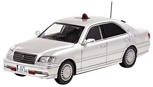1/43 RAI'S トヨタ クラウン (JZS175) 2004 警視庁交通部交通機動隊車両 (覆面) [銀]