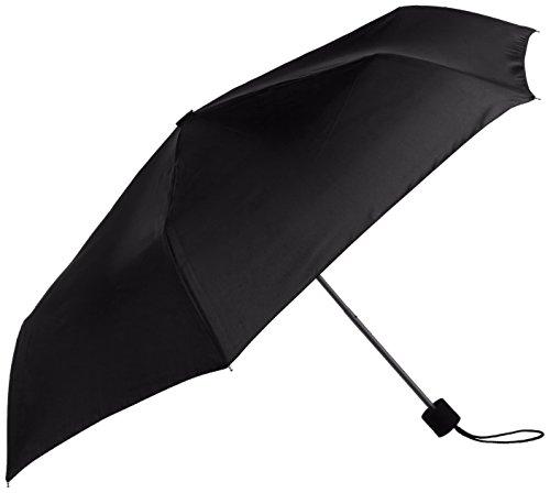 Wenger Regenschirm Manueller Taschenschirm (Schwarz) W1200