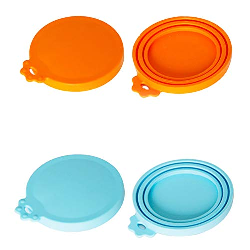 Best Price Broccoli Pet Food Can Cover Universal Silicone Cat Dog Food Can Lids 1 Fit 3 Standard Siz...