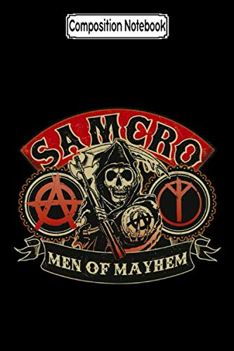 Composition Notebook: Sons of Anarchy - Men of Mayhem Tv Show Notebook 2020 Journal Notebook Blank Lined Ruled 6x9 100 Pages