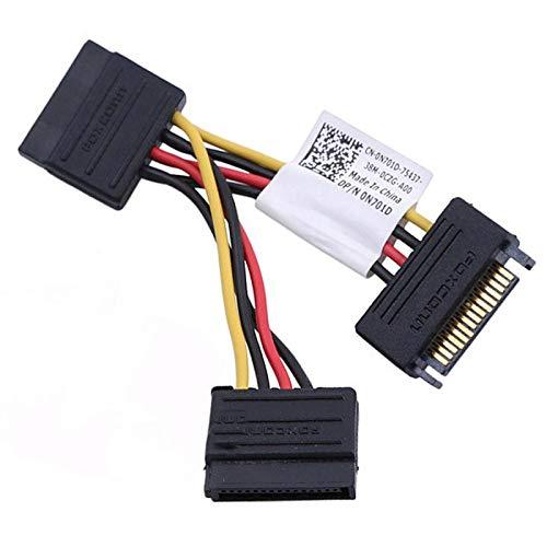 Dell 0N701D 7020 9020 - Lote de 100 cables dobles (2 unidades, SATA)