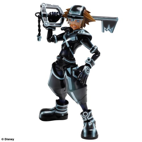 Figurine 'Kingdom Hearts : Dream Drop Distance 3D' Play Arts Kaï - Sora Tron: Legacy ver [Edizione: Francia]