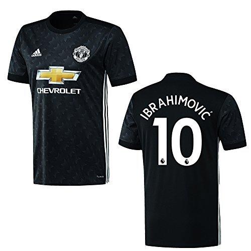 adidas Manchester United Trikot Away Kinder 2018 - Ibrahimovic 10, Größe:176