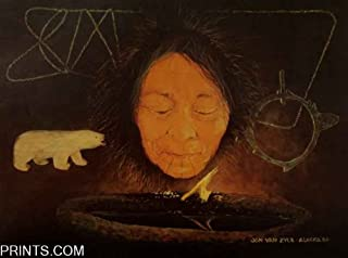 Jon Van Zyle - Eskimo Culture - The Ageless Flame Alaska Heritage Series