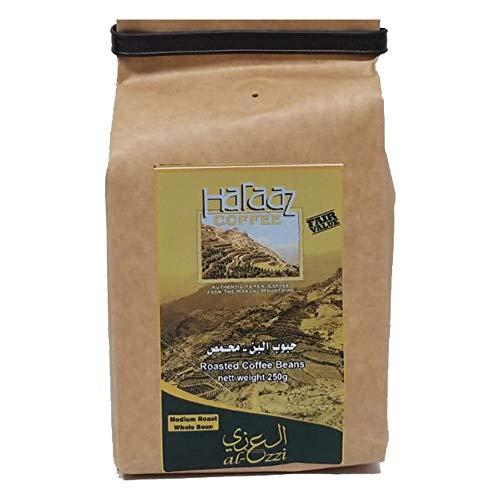 Haraaz FairValue Whole Roasted Coffee Beans, Medium Roast, 250g from Yemen