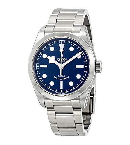 Tudor M79500-0004 Black Bay - Reloj automático para Hombre, Esfera Azul