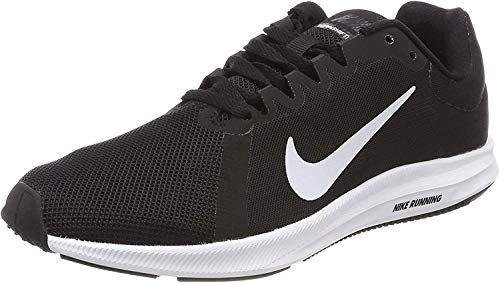 Nike Damen Downshifter 8 Sneakers, Schwarz (Black/White/Anthracite 001), 39 EU