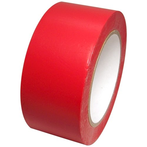 Tape Brothers Vinyl Marking Tape 2' x 36 yards several colors to choose from, Red
