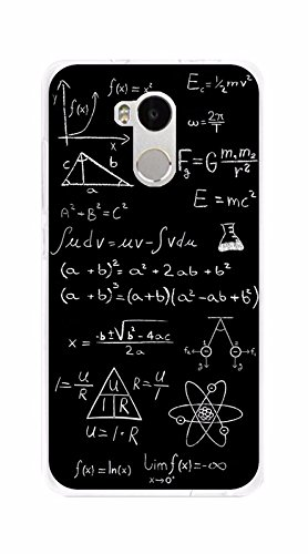 Tumundosmartphone Funda Gel TPU para XIAOMI REDMI 4 Pro diseño Formulas Dibujos