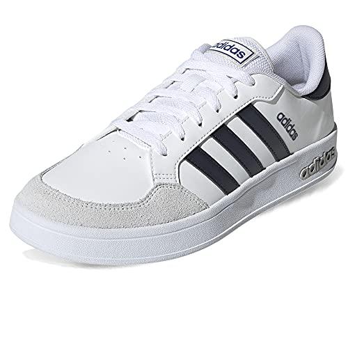 adidas BREAKNET, Zapatillas Deportivas Hombre, FTWBLA/Tinley/AZUREA, 46 2/3 EU