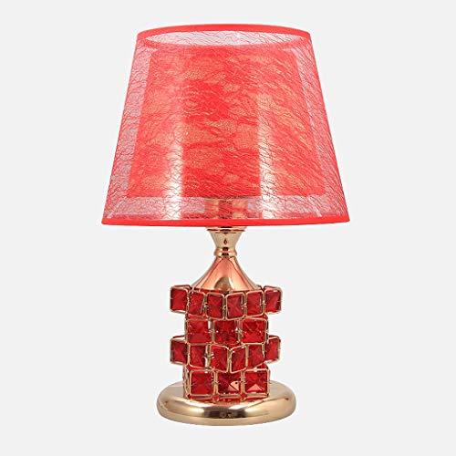 Nachtkastlampje, Scandinavisch, geometrie, dubbele lampenkap, eenvoudig, voor bruiloft, voor meisjes, studeerkamer, leeskamer, bureaulamp, T-20-4-11