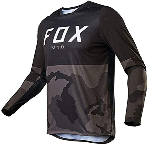 Maillot MTB Chicos Cycling Jersey Long Sleeve Downhill Jersey Foxmtb Racing Mountain...