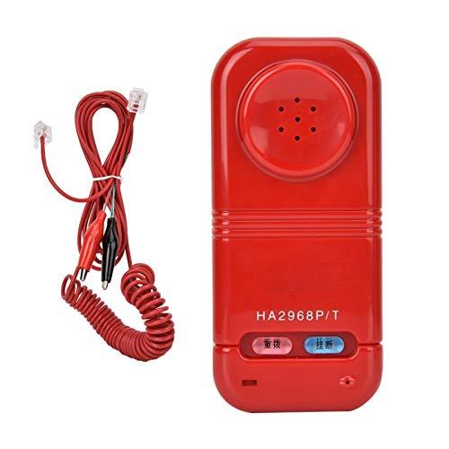 Goshyda Probador de Cable de Red RJ45, buscador de línea de Herramientas de Fibra óptica, para la recopilación de Mantenimiento de Red para la clasificación de Cables(Red)