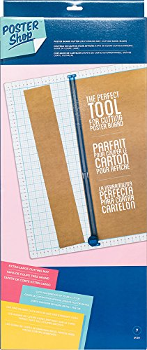 American Crafts Shop Poster Board Cutter, Mehrfarbig, 65,4 x 27,3 x 5,33 cm