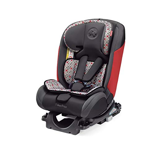 Cadeira para Auto All-Stages Fix Fisher Price 0-36 Kg, BB560, Multikids Baby, Preto/Vermelho