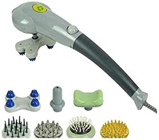 Skyland Massager With Multi Head, Gray- EM4161