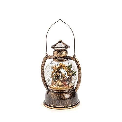 Konstsmide 3499-000 Lanterne Boule à LED Crèche de Noël, Verre/,, 0.3 W, Blanc