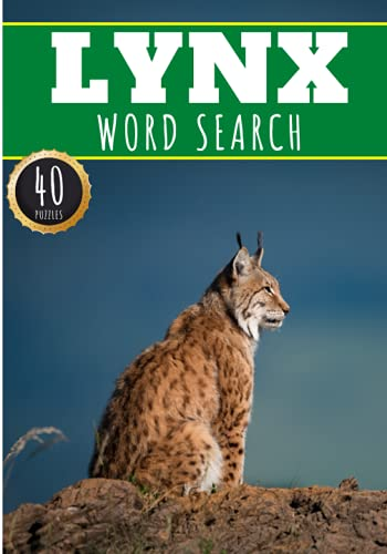 Lynx Word Search: 40 Fun Puzzles With...