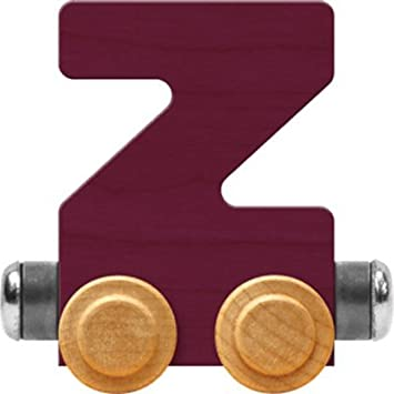 Made in USA Purple NameTrain Bright Letter Car Z