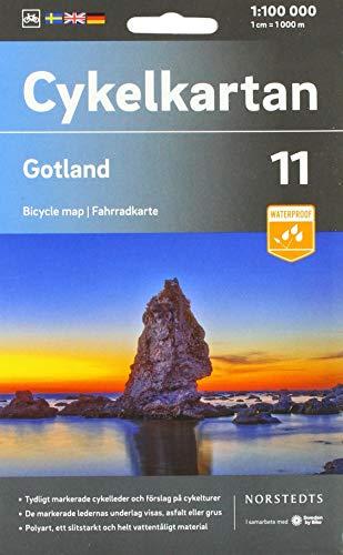Gotland 1:100 000: Cykelkartan