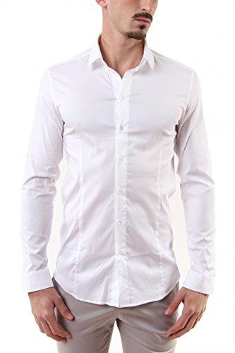 Patrizia Pepe Jeans-Hemd Strech Basic, Weiß, 56
