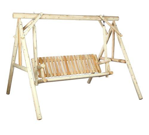 Hot Sale Cedarlooks 0700024 Log 6-Feet Swing with Stand