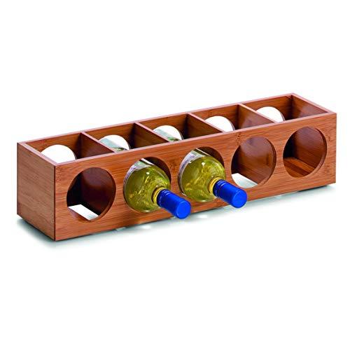 ZELLER Present - Schöner LEBEN. Praktisch WOHNEN. Weinregal, Bambus, Sonstige