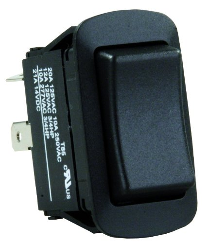 JR Products 13865 Water Resistant Mom-On/Off/Mom-On Reversing Switch