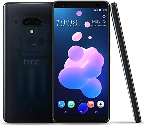 HTC U12 Plus 128GB/6GB Dual SIM - Factory Unlocked - GSM ONLY, No CDMA - International Version - No Warranty in The USA (Blue)