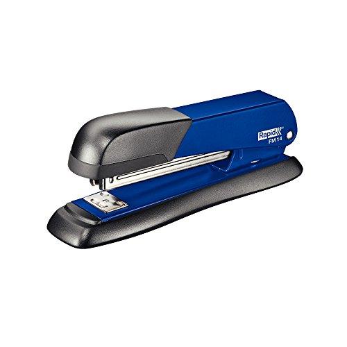 Rapid 5000280 Heftgerät (25 Blatt, Robuste Vollmetallkonstruktion, Großes Klammermagazin, FM14) blau