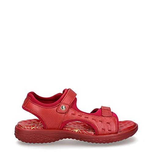 Sandalias de Mujer PANAMA JACK Nilo Nacar B1 Napa Rojo/Red 38 EU