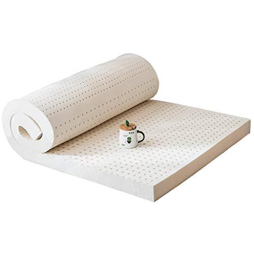 yangdan Colchón de látex para estudiante, cama individual, acolchado grueso, tamaño 90 x 190 cm [grosor 7,5 cm)