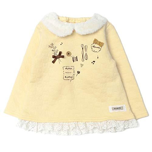 Biquette (ビケット) トレーナー (80〜130cm) キムラタンの子供服 (32202-204) イエロー 100