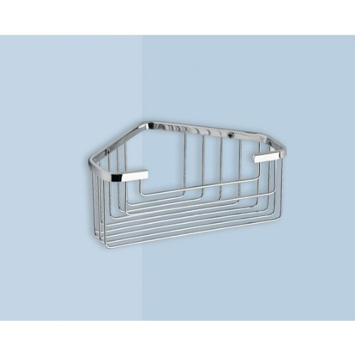 Review Wire Corner Shower Basket 2483