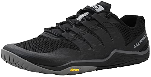 Merrell mens Trail Glove 5 Hiking Shoe, Black, 13 US