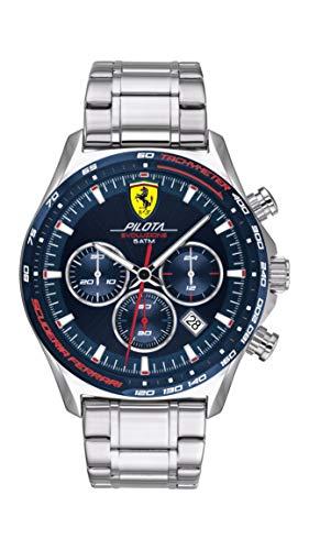 Scuderia Ferrari Orologio Quarzo con Cinturino in Acciaio Inox 830749