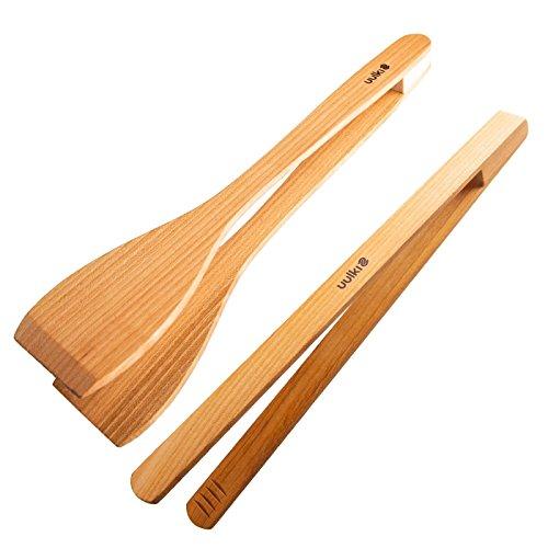 juego pinzas de madera para barbacoa