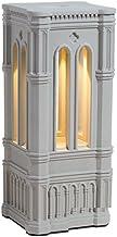 LED-nachtlampje, Dimbaar, Zacht Licht Oogbescherming, Aanraakschakelaar, Opladen Via USB, Romeins Cement Nachtlampje, Sfee...