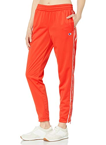 Champion Damen W Track Pant Jogginghose, Rote Flamme, Mittel