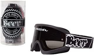 Beer Optics MX Goggles (Black Ribbon)
