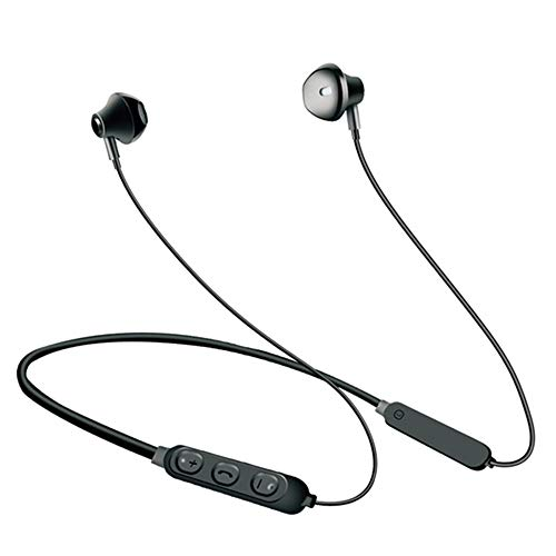 KKBEY Auriculares Estéreo In-Ear,Auriculares Bluetooth 4.1 Inalámbrico,Hi-Fi Sonido,Deportivos Cascos Deportivos Resistente al Sudor Auriculares con Micrófono para iPhone Android