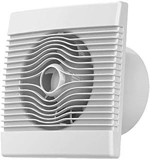 Cocina premium pared del baño de alto flujo extractor ventilador de 120 mm con el temporizador de retardo