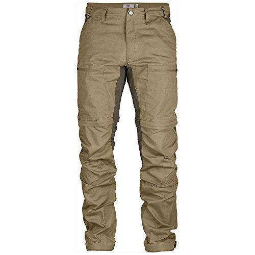 Fjällräven Abisko Lite Trekking Zip-off TR. M – Pantaloni – F81535 – Uomo, Uomo, Pantaloni, F81535, Multicolore - Sable (Sand/Tarmac), 48