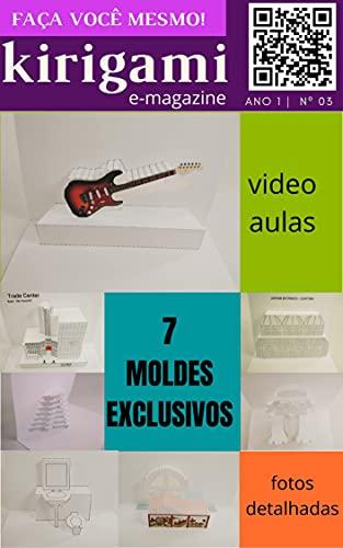 Kirigami - Revista digital nº 003 (Origami arquitetônico Livro 3) (Portuguese Edition)