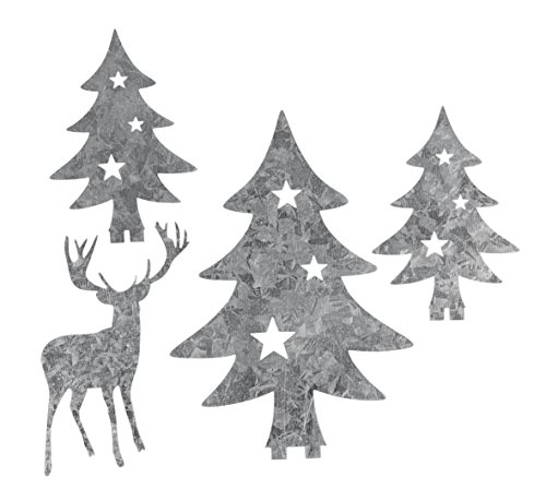 Rayher Hobby 46303000 Silhouette Zubehör, Metall, Silber, One Size
