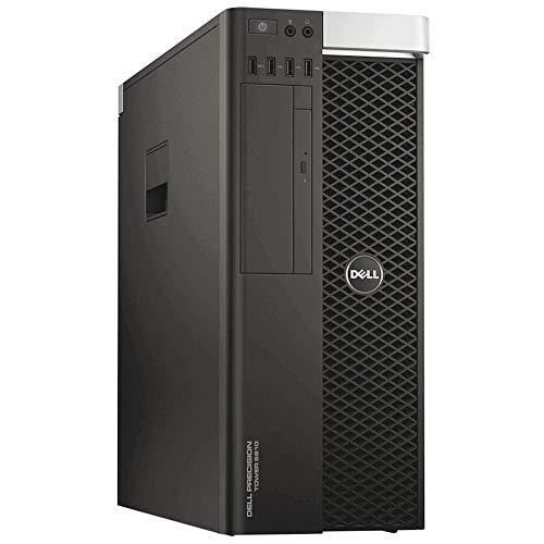 DELL T5810 - Estación de trabajo para gráficos y 3D, Xeon E5-1620 V3 3,50 GHz, RAM 32 GB, SSD 480 GB, NVIDIA Quadro M4000 8 GB, DVD, Windows 10 Pro actualizable a Win 11 (Reacondicionado...