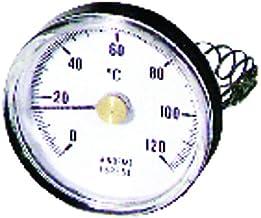 Diff - Termómetro redondo (de 0 a 120 °C, 63 mm de diámetro)