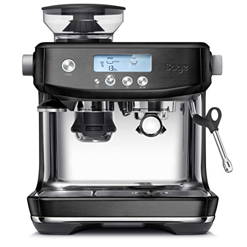Sage Appliances the Barista Pro, Black Stainless