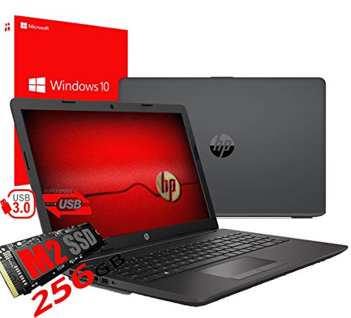 Notebook Pc Portatile HP 255 G7 Display 15.6' /Cpu Amd A4 da 2,3ghz A 2,6GHz /Ram 4Gb ddr4 /SSD M2 256GB /Vga Radeon R3 / Hdmi / Masterizzatore Wifi Bluetooth /Licenza Windows 10 pro + Open Office