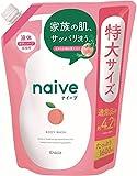 ナイーブ 桃の葉エキス配合 ボディソープ 詰替 1600ml